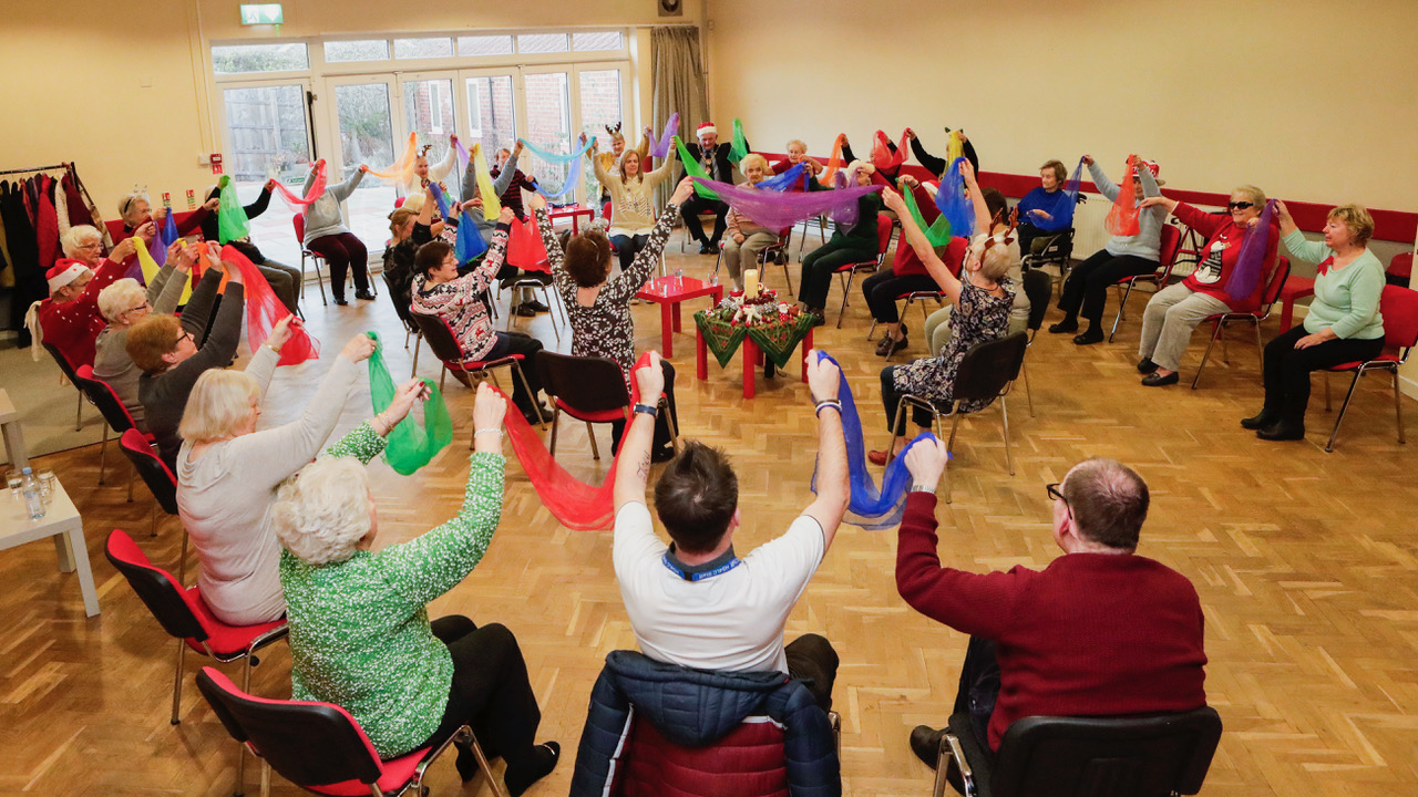 Dancing for Wellbeing – Supporting the community during COVID19