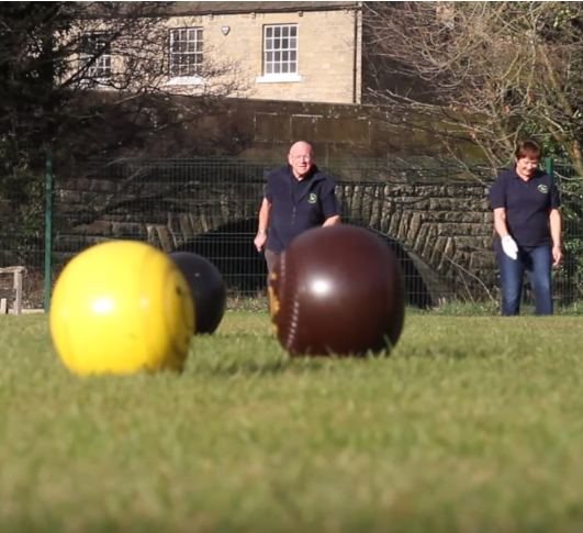 WATCH: Dacre Bank Bowling Club